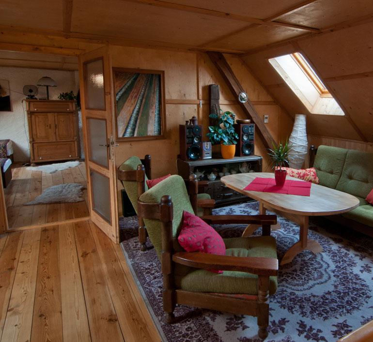 studio Fonografik, obývák