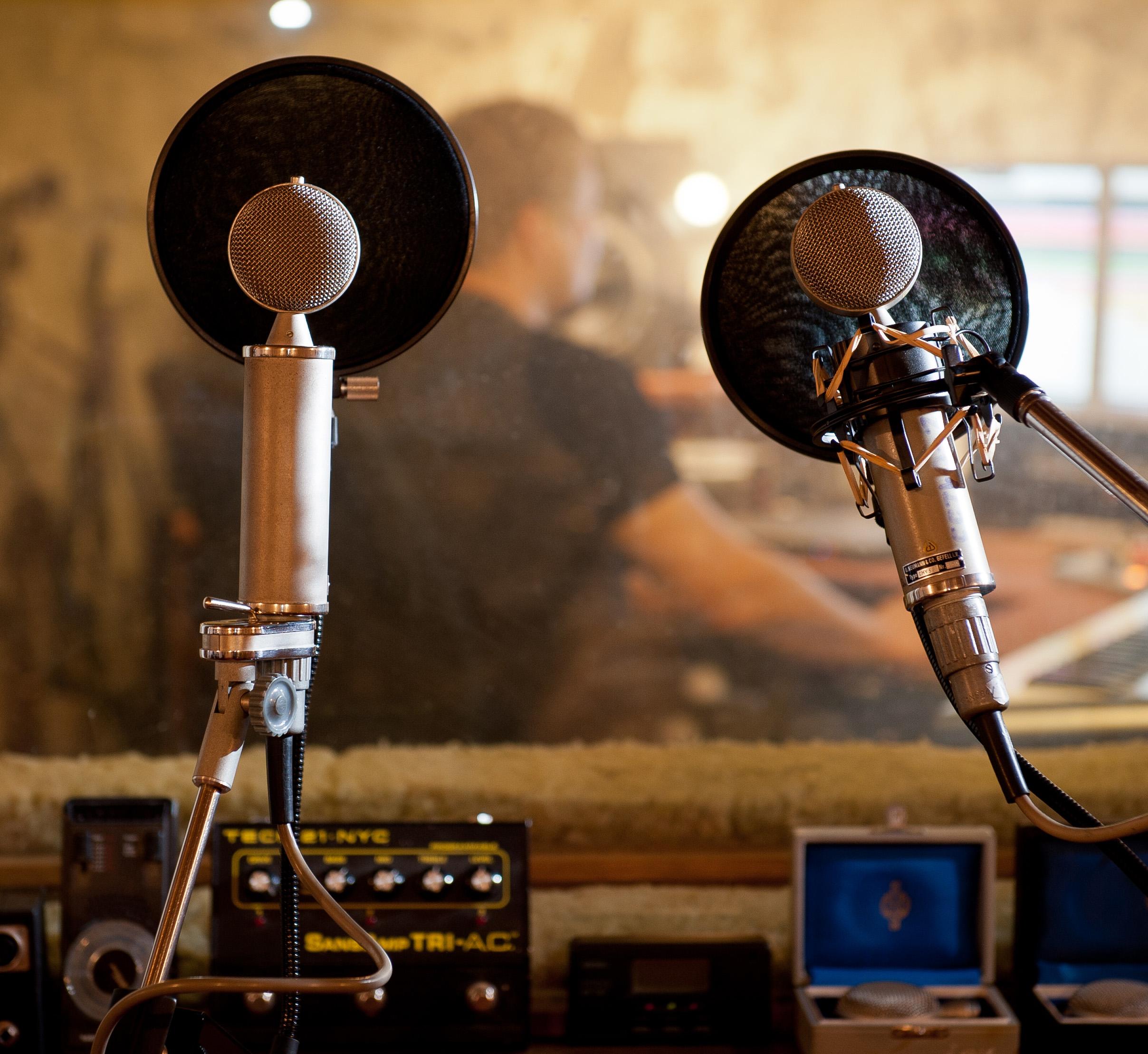 studio Fonografik, mikrofony