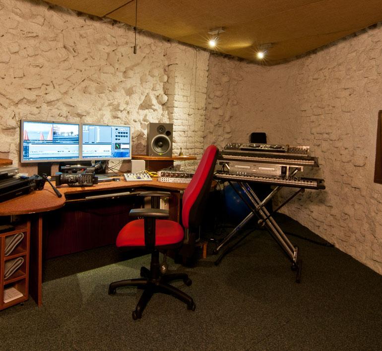 studio Fonografik, mixovací místnost