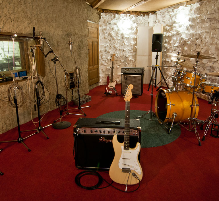Fonografik studio, recording room